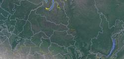Координирование трассы в программе «Google Планета Земля»